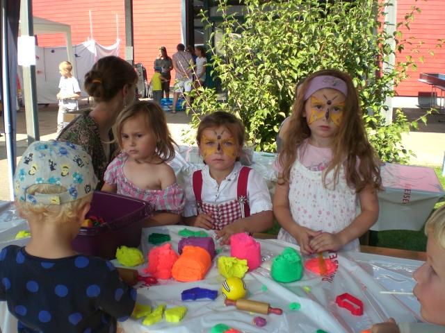 Das Dorffest bot viele Attraktionen für die Kinder (Bild: pd)